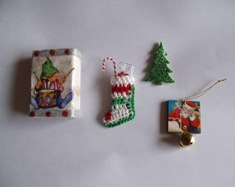 Elf Matchbox with 5 Goodies Inside/Decoration/Stocking Stuffer/Gift
