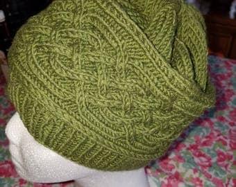 Celtic knotwork hat