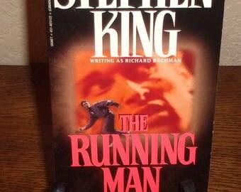 The Running Man-Stephen King Richard Bachman-Paperback Book-First Signet Printing 1982