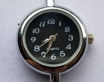 Watch Face Silver Plated