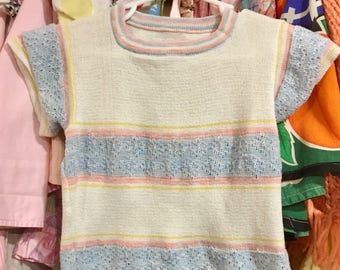 70s Girls Sweater 3T