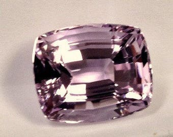 VINTAGE KUNZITE Spodumene Faceted Gemstone Antique cut 19.15 cts fg201