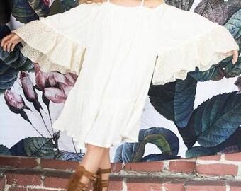 Angel wings dress