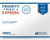 Express Mail on order