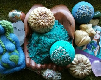 Momma Gaia Ritual Bath Kit Reiki-charged