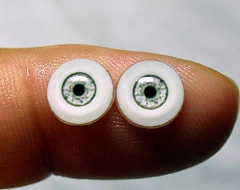 Doll eyes 8mm AD2 color Eucalyptus