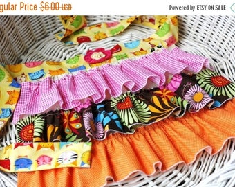 SALE Whimsy Couture Sewing PDF Pattern Tutorial Ebook Ruffle -- Frilly Ruffle Apron -- PDF Instant