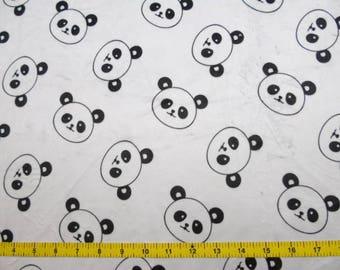 CUSTOM Reusable Cloth Menstrual Pad - You Pick Backing - Minky Panda Faces