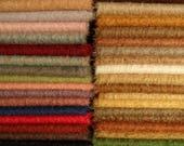 Vous choisissez propres 5 couleurs de mohair SCHULTE, pile 15 mm, 3 x 25cm / 35cm = environ 3 x 1/16