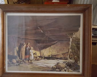 Mary Campbell Cave Print And Book
