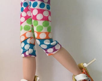 Multi-Color Stripes And Dots...Leggings For Blythe...