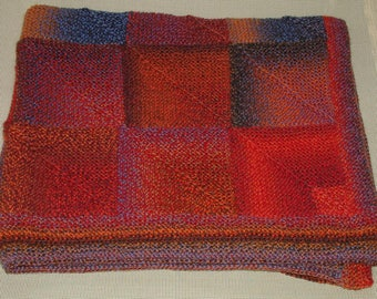 Fire and Water Lap Afghan