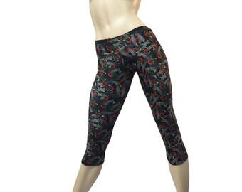 SALE xs/s - Yoga Pants - Workout Clothes - Hot Yoga - Fitness - Gun Capri - Gun Pants - Low Rise - Capri - SXY Fitness