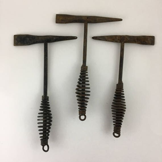 Set of 3 Vintage Chipping Hammers