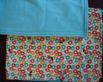 Fruit Loops Baby/Toddler/Nap  Blanket