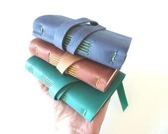 25 Pocket Leather Journals
