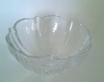 Vintage Mikasa Crystal Candy Bowl