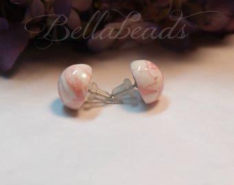 Flower Petal Jewelry, Memorial Jewelry, Pet Memorial, Real Flower Jewelry, In Loving Memory of, Gift for Her, Classic Stud Earrings