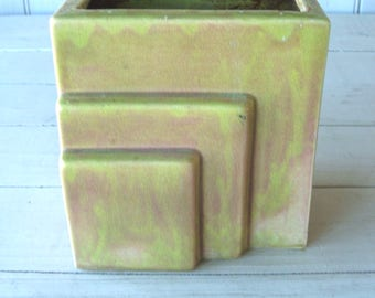 Vintage Art Deco Ceramic Vase Planter