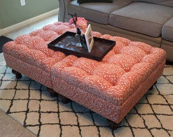 """A Custom Designed Ottoman - Your Fabric, Your Style... by """"Custom Ottoman Designs"""""""