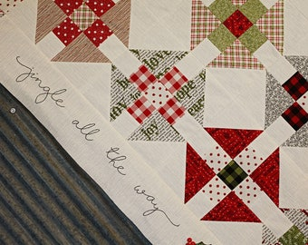 PRE-ORDER- Jingle All The Way Quilt Kit