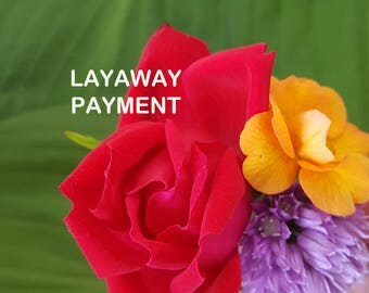 RESERVED FOR MARY - Layaway Payment Listing