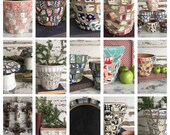 CUSTOM ORDER Reclaimed Handmade Pottery Mosaic