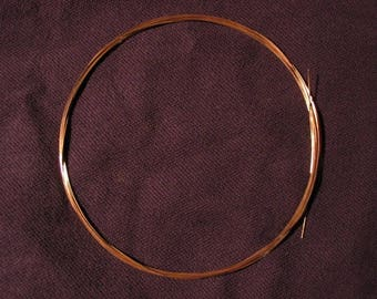 FREE Shipping 14K Pink (Rose) Solid Gold Round Wire 30g 1 Foot HH