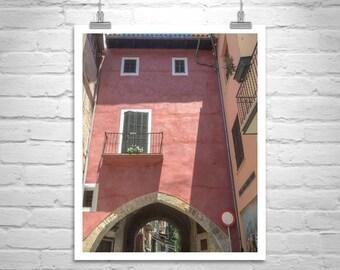 Palma, Majorca, Spain, Architecture Art, Travel Photography, Moorish Arch, Mallorca, Spanish Architecture, Mediterranean Sea, Fine Art Print