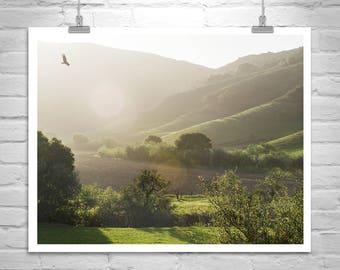Landscape California, Santa Barbara, Lompoc Photograph, Farm Country, Rural America, Canvas Wrap, Picture Gift, Wall Art, Home Decor