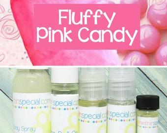 Fluffy Pink Candy Perfume, Perfume Spray, Body Spray, Perfume Roll On, Room Spray, Perfume Sample, Dry Oil Spray, You Choose the Product