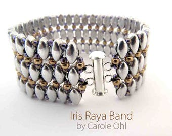 Iris Raya Band Tutorial by Carole Ohl