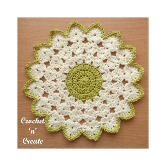 Crochet Round Doily Crochet Pattern Download P110