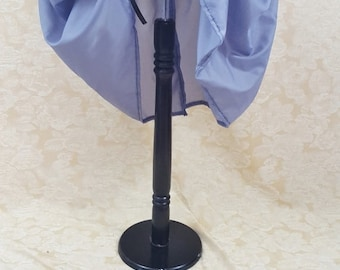 """SUMMER SALE Storm Grey Knee Length Bustle Skirt-One Size Fits Up To A 52"""" Waist"""