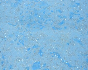 Fairy Frost in Light Blue Cotton Fabric