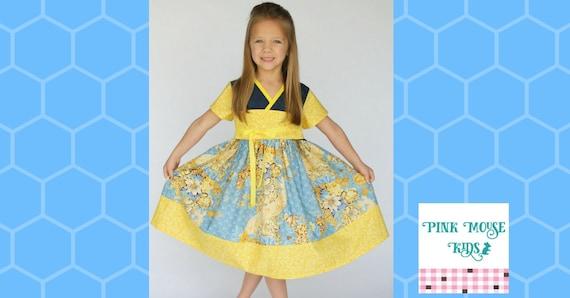 Princess Mulan - Mulan Costume - Pink Mulan Dress - Mulan Birthday - Little Girl Kimono - Mulan Kimono - Birthday Outfit - 12 Mos - 14 yrs