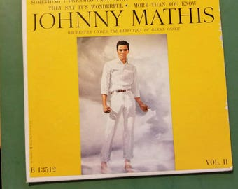 Johnny Mathis 45 Heavenly record