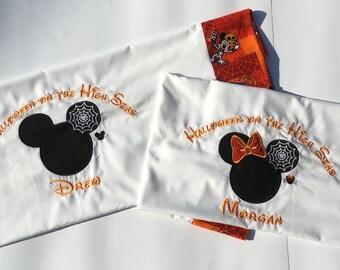 Disney Pillowcase Halloween
