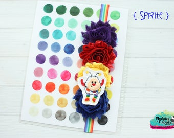 Rainbow Planner band { Sprite } rainbow bright 80's cartoon girl, sprite, retro magical, planner cover accessories bookmark bible band