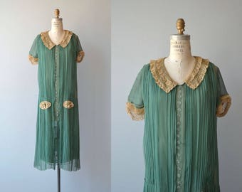 Idle Pursuits dress | vintage 1920s dress | silk 20s dress