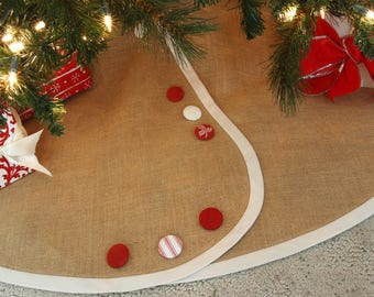 extra large christmas tree skirt all tailored buttoned up pick your - Large Christmas Tree Skirts