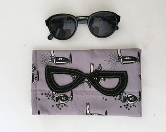 Reading Glasses Witchy Women Case, Sunglasses Soft Case, Glasses Case,  Ready to Ship Gift Idea