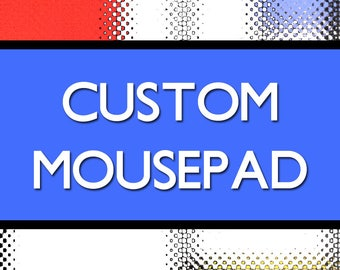 Custom Personalized Mousepad - Family & High School College Reunion Gifts, Conference Convention Gifts Awards Prizes, Graduation Gift