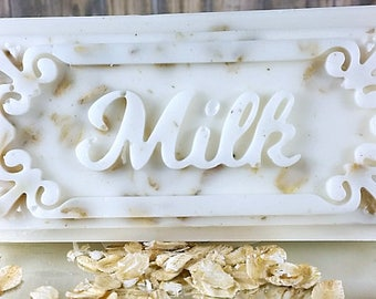 Sandalwood Rose - Handmade Soap - Deluxe Milk Bar 2-Pack - Goat's Milk Soap - Coconut Milk Soap - Free Shipping - Rose Scented Soap - Soap