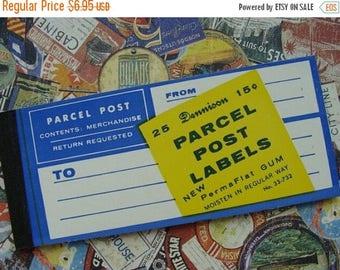 ONSALE Vintage Gummed Unused  Dennison Postal Label Booklet