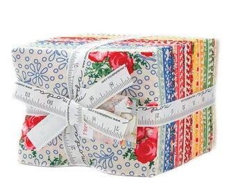 SALE Merry Go Round Fat Quarter Fabric Bundle - American Jane - Moda - 36 FQ