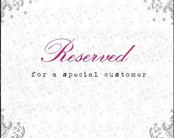 Reserved listing for Kit