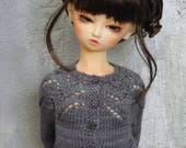 SD 60cm BJD girl sweater Morning Mist