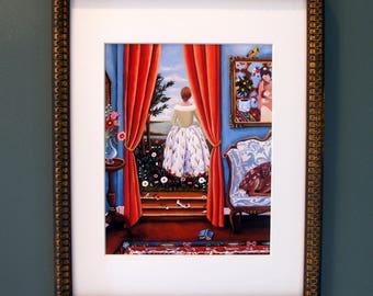 Beautifully framed Fine Art Print 8x10
