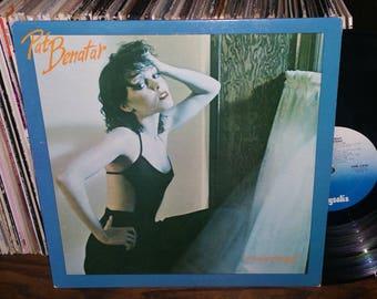 Pat Benatar In The Heat Of The Night Vintage Vinyl Record